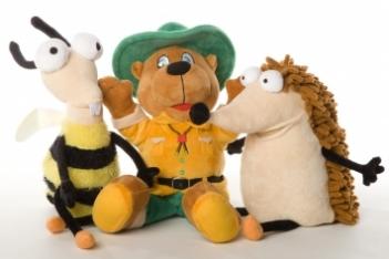 Handpuppen Bollo und seine Freunde